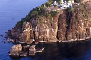 SRI LANKA. Trincomalee. Swami Rock (above Fort Frederick).East Coast.