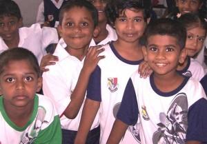 tamil school children
